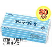 抗菌ペーパータオル小判圧縮ディックE2200枚入
