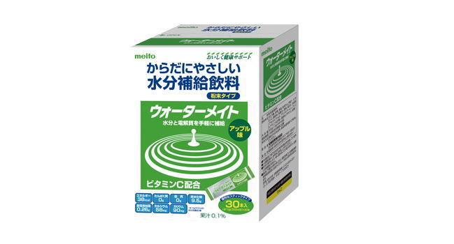 MEITO 名糖産業ウォーターメイト 30Pアップル味/10g×30本[介護 ケア サポート 介護用品 通販 熱中症対策]