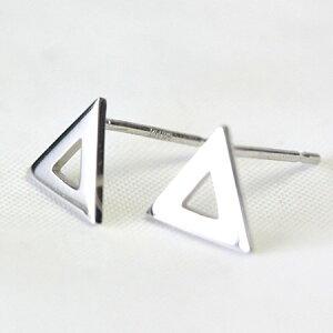 プラチナピアス地金ピアストライアングル三角Pt900