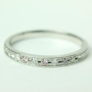 天然ピンクダイヤモンド × ダイヤモンド リング 『ドルチェ ピンク』  K18ピンクゴールド・K18ホワイトゴールド・K18イエローゴールド・プラチナ900:ジュエリーエクセレンテ