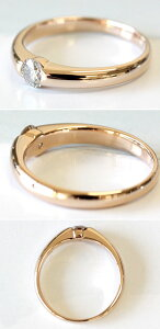 ダイヤモンドリング一粒ダイヤ指輪シャンパンブラウンダイヤダイヤモンドリング0.2ctK18ゴールドやプラチナも作成可能【結婚記念日】【誕生日】【プレゼント】