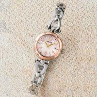 シチズン女性用腕時計ウィッカレディースソーラーウォッチKF2-510-11【倉B】