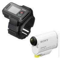 【送料無料】SONY ソニー アクションカメラ ウェアラブルカメラ 防滴対応のアクションカム上位機種 より美しく、心地よく、アクションの頂点へ デジタルHDビデオカメラレコーダー(ライブビューリモコンキット) HDR-AS100VR HDRAS100VR