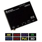 【送料無料】ADTECHNO エーディテクノ 4K UHD@60、1080p60、HDCP2.2に対応!HDMI信号を非圧縮で伝送可能なHDBaseT&HDMIエクステンダーRx 受信機 HD-06RX HD06RX