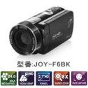 【送料無料】joyeuxジョワイユフルハイビジョンデジタルムービービデオカメラJOY-F6(BK-ブラック)JOYF6BK