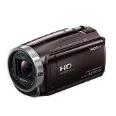 【送料無料】SONY ソニー デジタルHDビデオカメラレコーダー さらに手ブレに強くなり、美しい映像を残せる高画質スタンダードモデル HDR-CX675(T-ボルドーブラウン) HDRCX675T