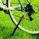 【送料無料】LEEMANリーマンキックスタンド・ポンプ・テールライト・タイヤレバーの4つの機能が1つになったサイクルパーツ4in1キックスタンドポンプ【自転車グッツ】