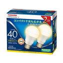 TOSHIBA東芝E-CORE(イー・コア)広配光タイプLED電球一般電球(40W)形485lm(電球色相当)LDA5L-G-K/40W-2P【2個セット】【AC】