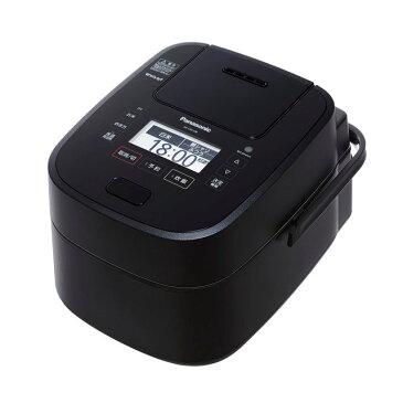 【あす楽対応_関東】【在庫あり送料無料】PANASONIC パナソニック 可変圧力スチームIH炊飯ジャー Wおどり炊き 5.5合タイプ 炊飯器 SR-VSX108(K-ブラック) SRVSX108-K