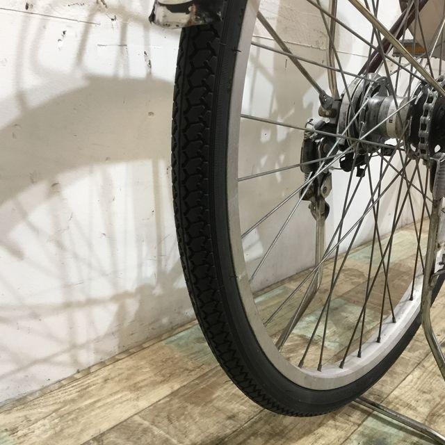 電動自転車 ママチャリ Panasonic ビビDX SD チョコブラウン 26インチ 【KK085】 【神戸】