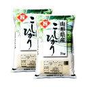 米 10kg コシヒカリ 山形産 お米 送料無料 5kg x2袋 こしひかり 令和2年産