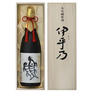 越の初梅 伊乎乃(いおの)大吟醸原酒桐箱入り1800ml 高の井酒造 日本酒 大吟醸