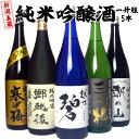 日本酒 飲み比べセット 新潟五蔵 純米吟醸酒 1.8L×5本...