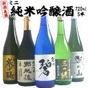 日本酒 純米吟醸 飲み比べセット 720ml×5本 新潟五蔵...