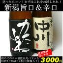 【A50】【PART2】初めての日本酒720ml×2本飲み比べセット(越乃潟舟、越乃中川)【送料無料】【ギフトカートン入り】【3,000円ポッキリ】【楽ギフ_のし】【RCP1209mara】【Marathon02P05Sep12】