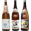 白龍 龍ラベル からくち1.8Lと八海山 特別本醸造 1.8L と 八海山 普通酒 1.8L 日本酒 3本 飲み比べセット