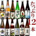 日本酒 純米大吟醸入り 四合瓶 飲み比べセット 720ml12本 新潟のお酒が12本もはいった豪華な