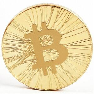 仮想通貨 ビットコイン bitcoin コイン ゴールド