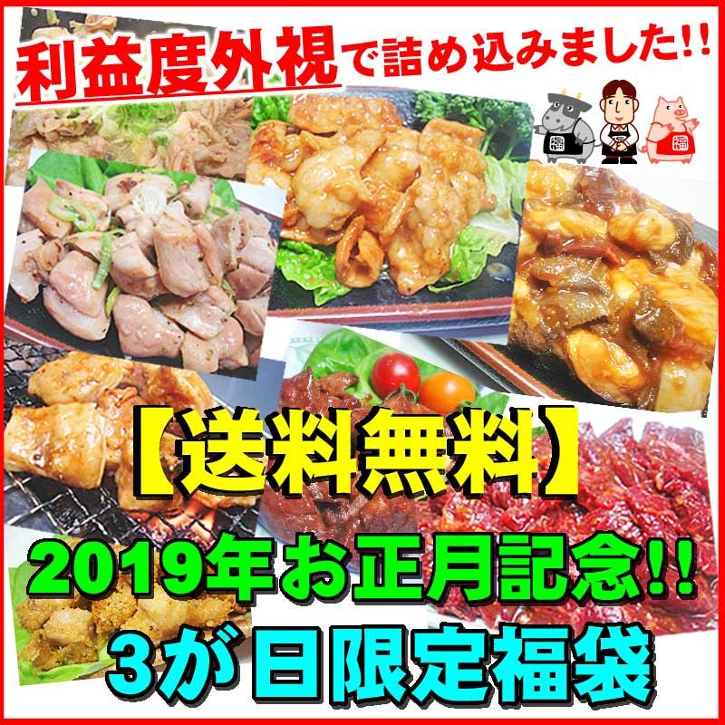 【送料無料】利益度外視!2019年お正月記念!3ヶ日限定新春福袋!今年もよろしくお願いします!