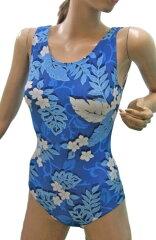 ワンピース水着・すっきりとした素敵なプリント水着です。足繰りもノーマルで、着やすいです。...