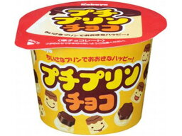 カバヤ食品 プチプリンチョコ 34g【入数:12】