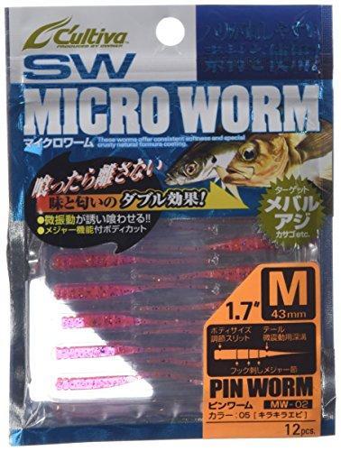 オーナーMW-02ピンワームM05キラキラ