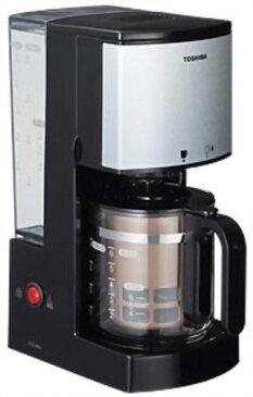 東芝 コーヒーメーカー HCD-6MJ (K) ブラック【smtb-s】