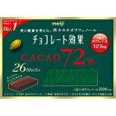明治 チョコレート効果カカオ72% 26枚【入数:6】