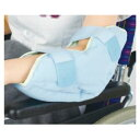 日本エンゼル 洗える通気タイプ かかと用パッド【1個入り】 ブルー 足底側27cm×20cm×厚さ10cm (1663)