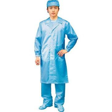 ブラストン クリーンルーム用コート(テーラーカラー/ボタンタイプ) ブルー 男女共用 BSC-61001-B LL (7072bn)【smtb-s】