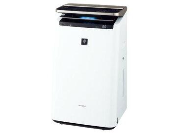 シャープ(SHARP) シャープ KI-JP100-W プラズマクラスターNEXT搭載 加湿空気清浄機(空清46畳まで/加湿26畳まで)ホワイト系(KI-JP100)【smtb-s】