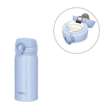 サーモス 水筒 真空断熱ケータイマグ ワンタッチオープンタイプ パウダーブルー 350ml JNL-354 PWB