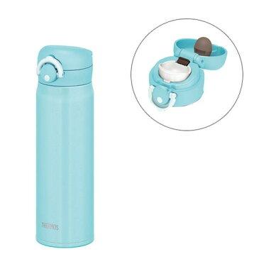 サーモス 水筒 真空断熱ケータイマグ ワンタッチオープンタイプ アイスグリーン 500ml JNR-501 IG