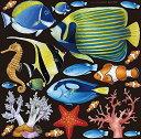 のぼり屋(Noboriya) デコレーションシール スタンダード フィッシュMN1 熱帯魚 6337 ...