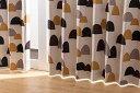 ナイスデイ 【4874C106】IN-FA-LA 北欧デザインカーテン...