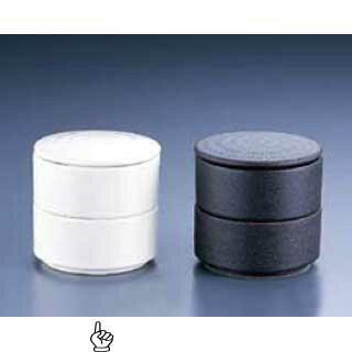 【まとめ買い10個セット品】丸型 二段重 白 Y-022 【ECJ】