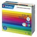 【まとめ買い10個セット品】 PC DATA用 CD-R パソコンデータ用1回記録タイプ CD-R 48倍速対応 SR80SP10V1 【ECJ】