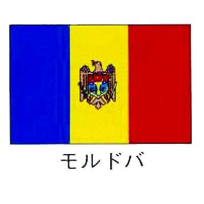 【業務用】旗 世界の国旗 モルドバ 70×105 【 キャンセル/返品不可 】  :EC・ジャングル