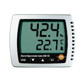 【業務用】卓上式温湿度計(アラーム付)Testo608-H2