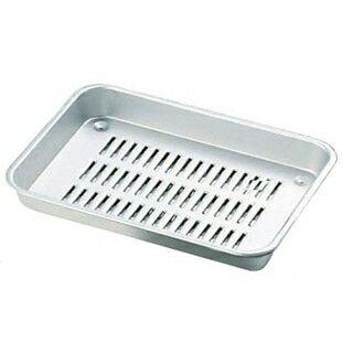 アルマイト 標準 水切バット 6号 210×150×32【 ストックポット・保存容器 】 【ECJ】