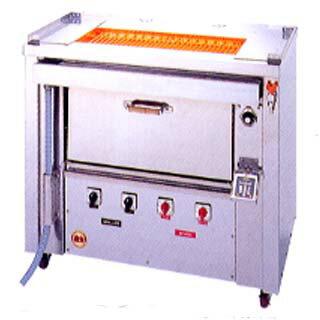【業務用】ヒゴグリラー 焼き鳥焼き機 オーブン付タイプ GOX-200【 メーカー直送/代引不可 】