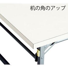 折畳み会議テーブルブラックYKT-1860〔BK〕