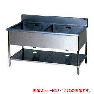 業務用厨房用品, 業務用シンク  2 BG W1500D600H800MS2-156NX 2 2 2 2 ECJ