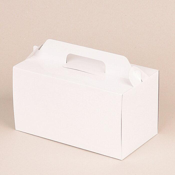【業務用】【パール金属】 ウィズハート ロールケーキボックス22cm [ ホワイト ]