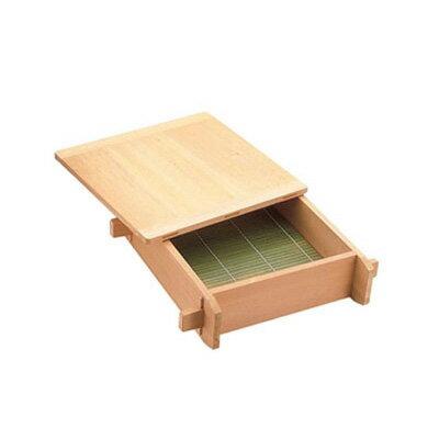 【まとめ買い10個セット品】木製 角セイロ 関東型(サワラ材) 45cm【 角セイロ 】 【ECJ】