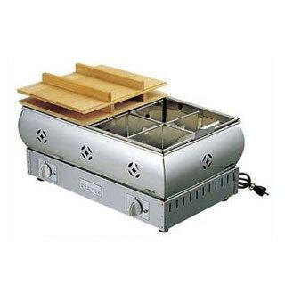 【まとめ買い10個セット品】EBM 18-8 おでん鍋 尺8(54cm)13A【 加熱調理器 】 【ECJ】