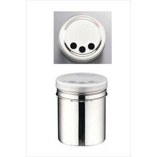 【まとめ買い10個セット品】『 調味料入れ 容器 調味缶 』TKG18-8調味缶 大 パセリ/バジル缶[アクリル蓋付]