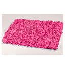 【 バツグンの吸水性 】 ふかふか快適 吸水バスマット 45×65cm ピンク 【 パール金属 】 【ECJ】