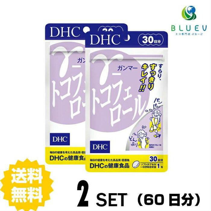 【送料無料】 DHC γ(ガンマー)-トコフェロール 30日分(30粒) ×2セット