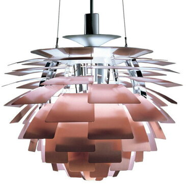 LouisPoulsen(ルイスポールセン)「PHArtichoke(アーティチョーク)」φ840銅(ランプ:E39 白熱電球クリア500W)[ペンダントライト/北欧照明/デザイナーズ/輸入]【PHArtichoke840Copper】